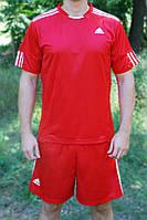 Футбольная форма игровая Adidas Red (Адидас красная), фото 1