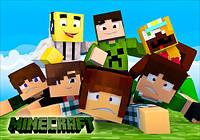 "Магнит сувенирный ""Minecraft"" 14"
