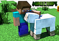 "Магнит сувенирный ""Minecraft"" 16"