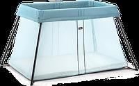 BABYBJÖRN Складной Mанеж - кровать LIGHT, бирюзовый цвет