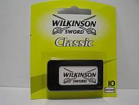 Леза для верстата Schick Wilkinson 10 шт (Шик Вілкінсон), фото 1