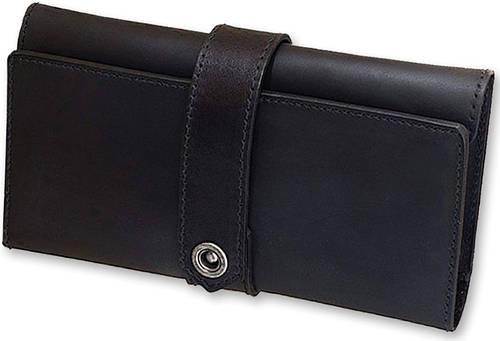 Женский надежный, кожаный кошелек BlankNote BN-PM-3-g графит