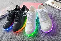 Светящиеся кроссовки, кроссовки с  Led подсветкой