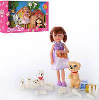 Кукла Defa Lucy с собачками, расческой и аксессуарами