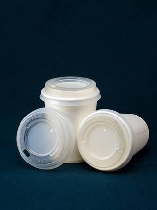 Крышка к бумажному стакану 250 мл (50 шт), фото 2