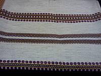 Льняная скатерть-вышиванка