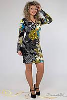 Женское облегающее платье больших размеров