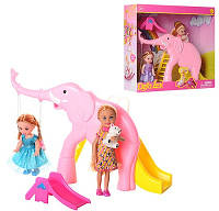 Кукла Defa Lucy Парк развлечений с горками и мишкой