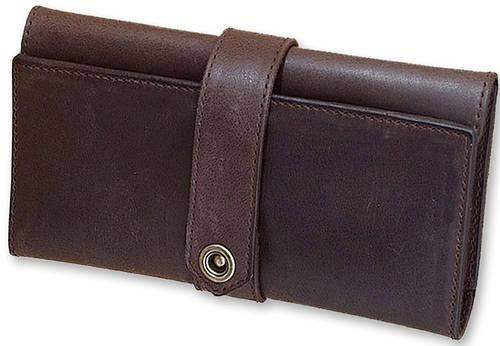 Вместительный женский кошелек из натуральной кожи BlankNote BN-PM-3-o орех