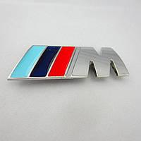 Эмблема кузова BMW M-power хром
