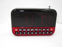 Цифровой радиоприемник мп3 плеер с часами и будильником Longruner L80