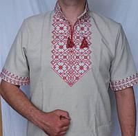 Мужская сорочка вышиванка МРЛ31