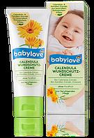 Детский защитный крем с экстрактом календулы Babylove Wundschutzcreme Calendula 150 мл