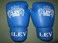 Боксерские перчатки Lev-Sport (кожзам) 6 oz