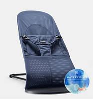 Кресло-шезлонг BABYBJORN Balance soft, Great blue whale, Mesh