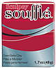 Новинка! Полимерная глина Sculpey Souffle Скалпи Суфле, насыщенный красный 6083