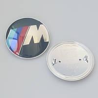 Эмблема багажника BMW M-power 74mm