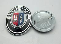 Эмблема капота и багажника BMW Alpina 82mm