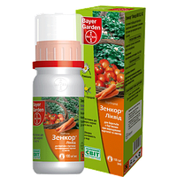 Системный гербицид Зенкор Ликвид (100 мл) - избирательный,на посевах картофеля, томатов. До- и после-всходовый