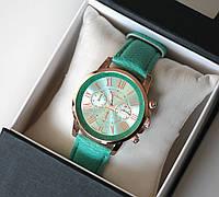 Часы женские наручные Geneva мятные магазин часов