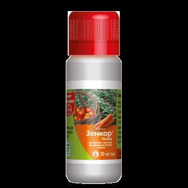 Системный гербицид Зенкор® Ливид (20 мл) —избирательный, на посевах картофеля, томатов. До- и после-всходовый, фото 2