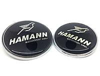 Эмблема багажника BMW Hamann 74mm