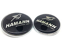 Эмблема капота и багажника BMW Hamann 82mm