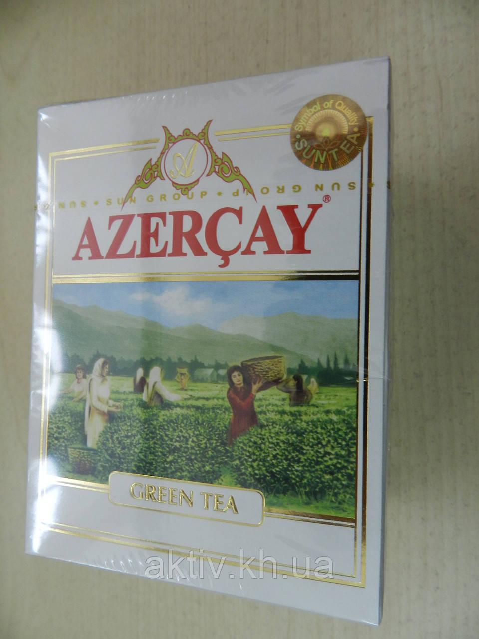 Чай зелений Azercay Азерчай 100 грам