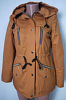 Куртка-парка женская весенняя