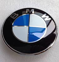 Эмблема капота и багажника BMW 82mm, фото 1