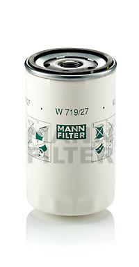 Фильтр масляный MANN W 719/27 для Ford Escort , Fusion , Fiesta , Focus , Mondeo , Scorpio , Mazda CX-9