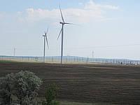 Зеленая энергия. Ветрогенераторы в Крыму.