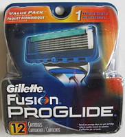 Лезвия Gillette Fusion Proglide Manual 12, Cartridges , фото 1