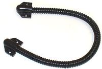 Гнучкий перехід для дверей 500 мм чорний/білий
