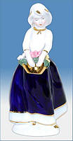 Подарочная фигурка из фарфора Девушка