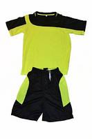 Форма футбольная детская. (3,5-8 лет). Цвет: чёрно-жёлтый
