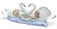 Статуэтка Лебеди со стразами