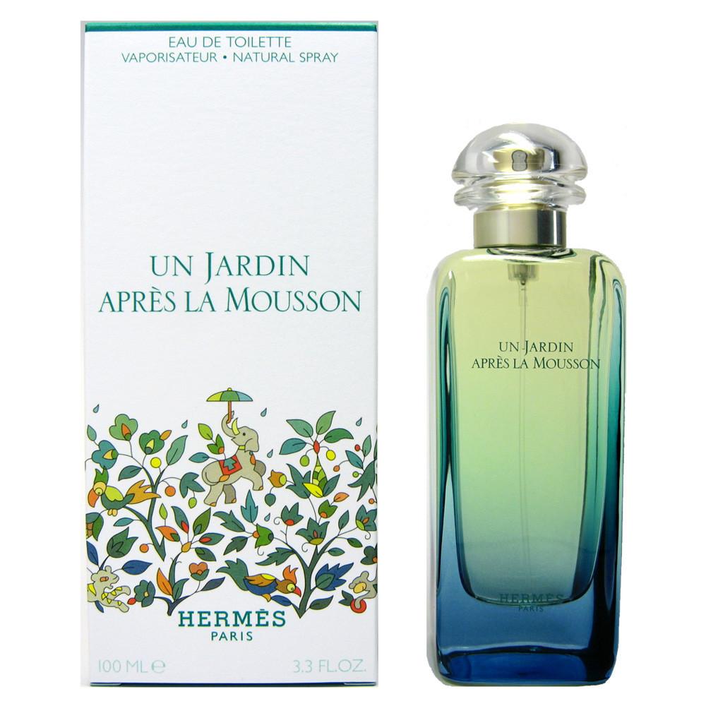 Туалетная вода унисекс Hermes Un Jardin Apres la Mousson (Гермес Ун Жардин Апре Ля Муссон) 100 мл
