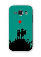Чехол для Samsung Galaxy J1 Ace J110H (Влюбленные)