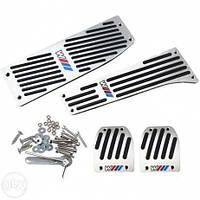 Накладки на педали BMW E36 E38 E39 E46 E84 E87 E90 E91 E92 E93 М-power механика