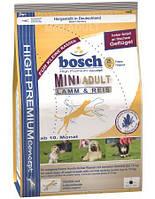 сухий корм для собак BOSCH Mini adult Ягненок и Рис  15 кг