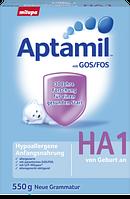 Aptamil Hypoallergene Anfangsnahrung HA 1 von Geburt an -Гипоаллергенная смесь для младенцев с рождения, 550г