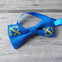 Вишитий метелик-краватка для хлопчика (ручна робота)