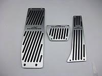 Накладки на педали BMW E36 E38 E39 E46 E84 E87 E90 E91 E92 E93 Schnitzer автомат, фото 1