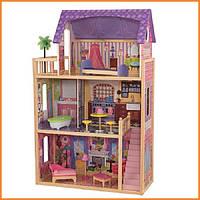 Дом для кукол KidKraft Kayla Кайла кукольный дом с мебелью 65092