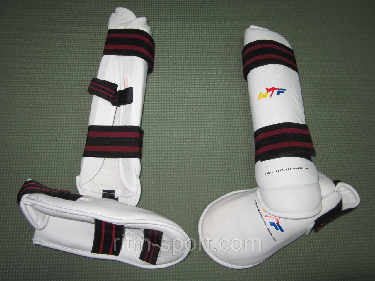 Защита голени и стопы Taekwondo WTF