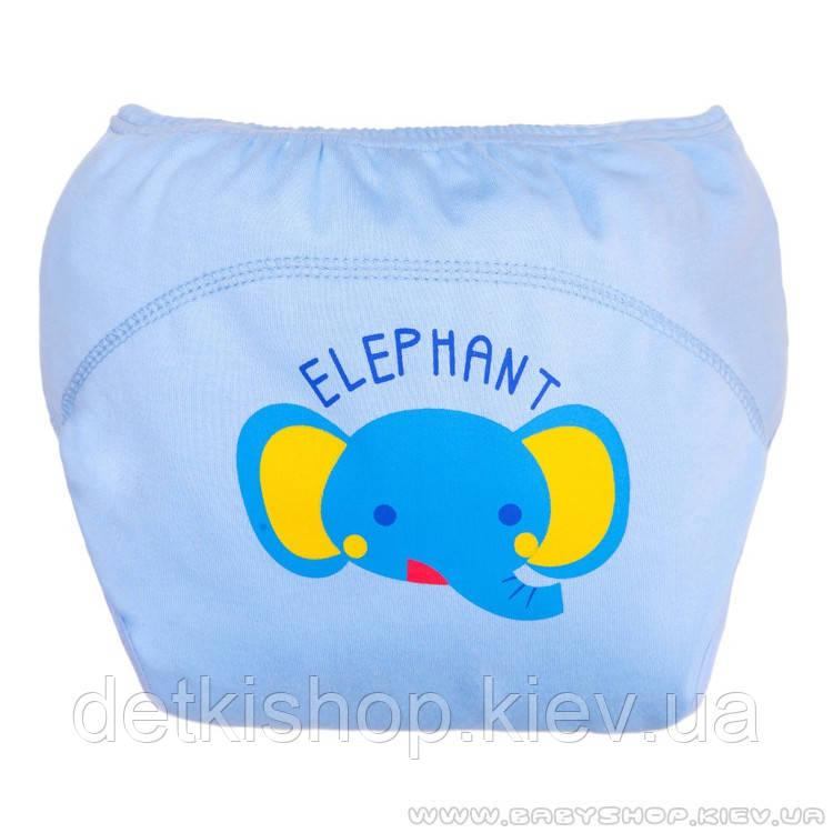 Тренировочные трусики для приучения к горшку (голубой слон)