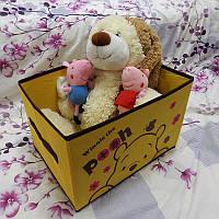 Органайзер короб для хранения игрушек Pooh