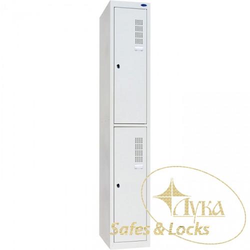 Шкаф одежный металлический ШОМ-300/1-2