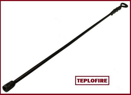 Металлический держатель для щётки длиной 0,8м